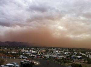 Red Dust Cloud