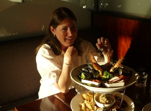 Seafood Dinner at the Stamford Grand