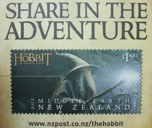 Even the Post Office had Hobbit fever